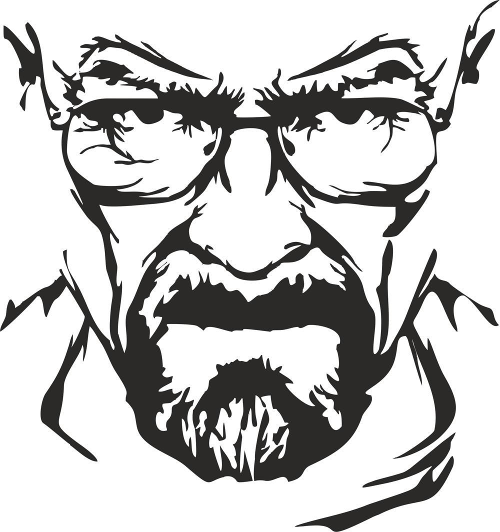 Breaking Bad Heisenberg Vector.