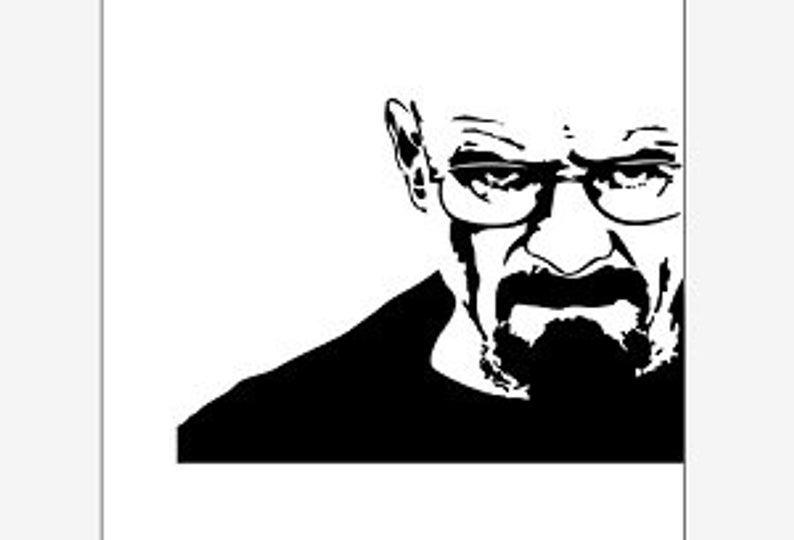 Breaking Bad Vector Clipart pdf svg eps png dxf.
