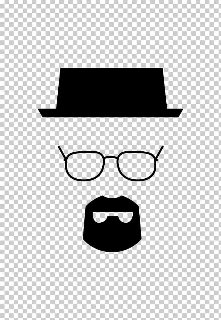 Walter White Adhesive Breaking Bad PNG, Clipart, Black, Black And.