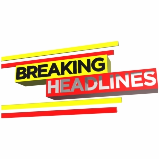HD Breaking News Banner Png Transparent Background.