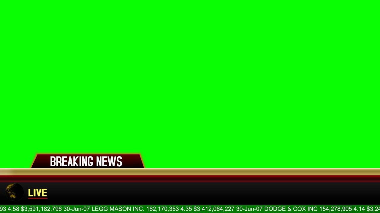 Breaking News Banner.