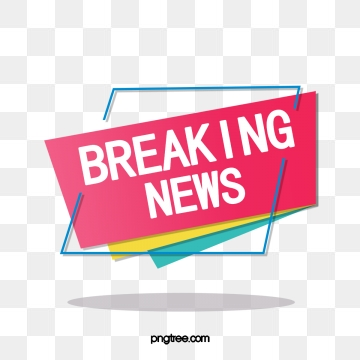 Breaking News PNG Images.