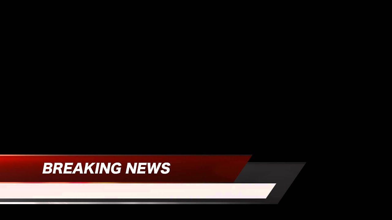 Breaking News Lower Third Red FREE HD Stock.