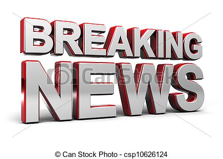 Breaking news clipart 3 » Clipart Station.