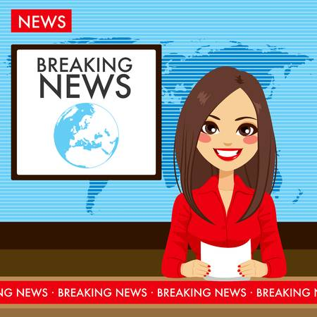 7,575 Breaking News Stock Vector Illustration And Royalty Free.