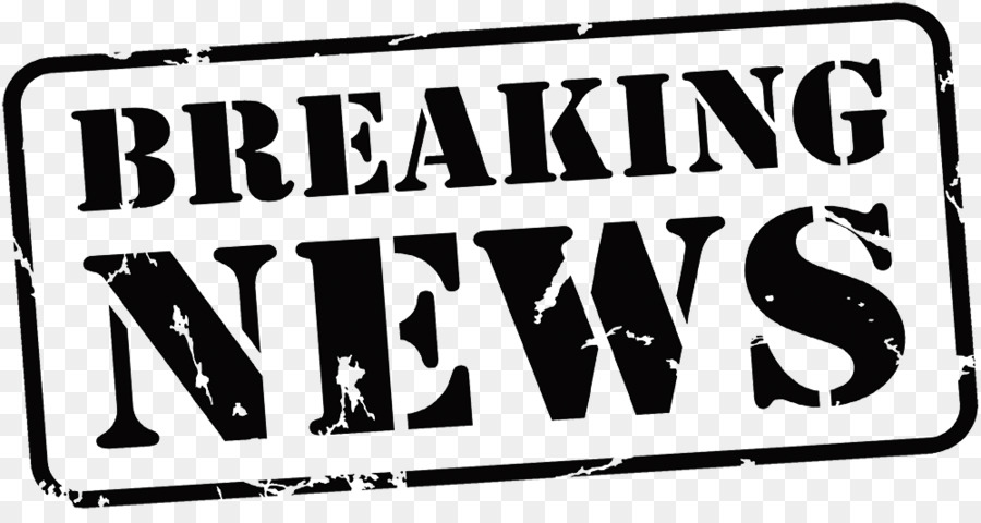 Breaking News Text png download.