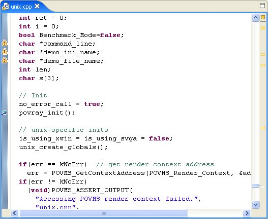 QNX Developer Support.