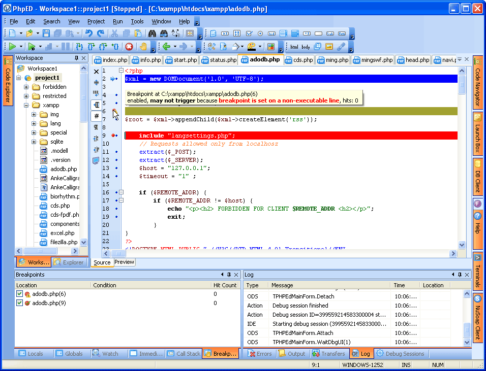 Technical FAQ: Working with Breakpoints.