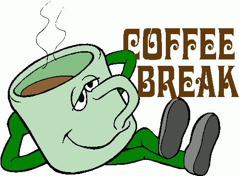 Coffee Break Clip Art.