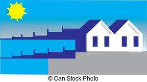 Breakwater Clip Art Vector Graphics. 12 Breakwater EPS clipart.