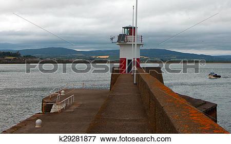 Picture of Wicklow Ireland Harbor.