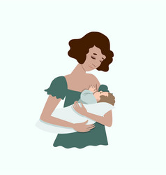 Breastfeeding Clipart Vector Images (24).