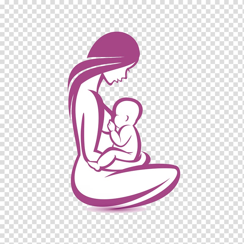 Breastfeeding PNG clipart images free download.