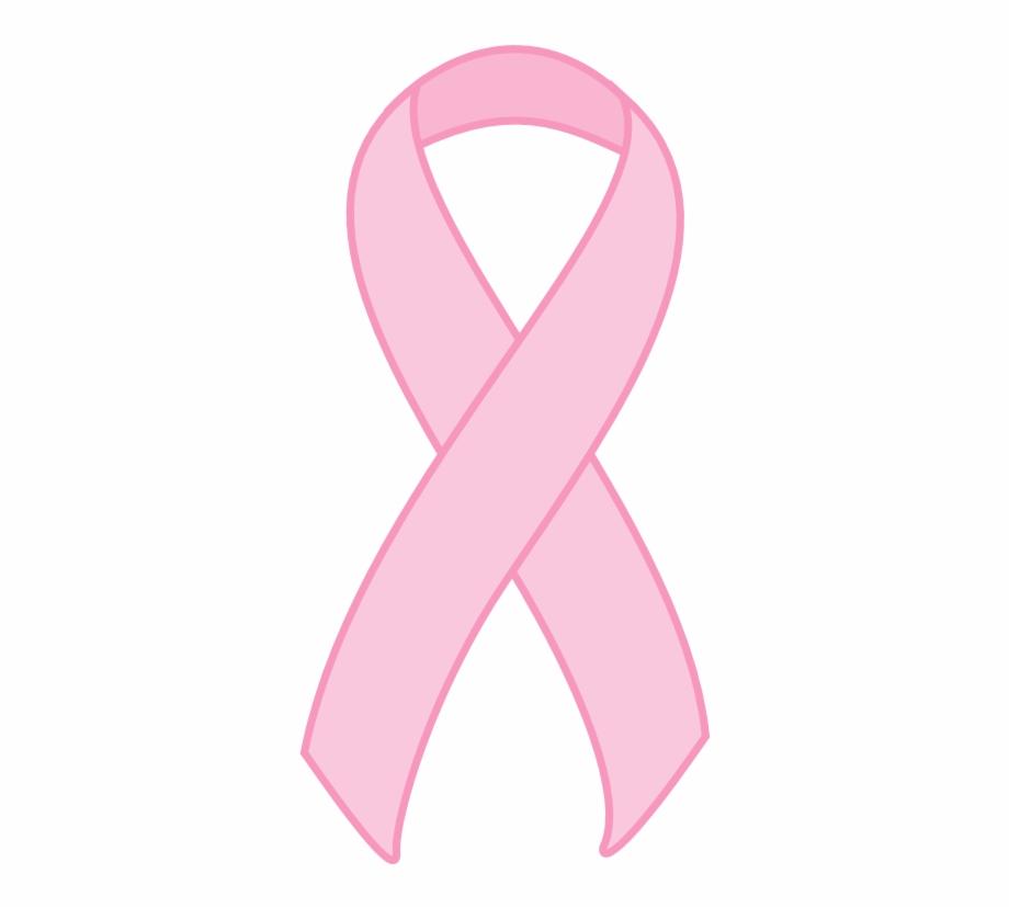 Breast Cancer Awareness Ribbon Black Background, Transparent Png.