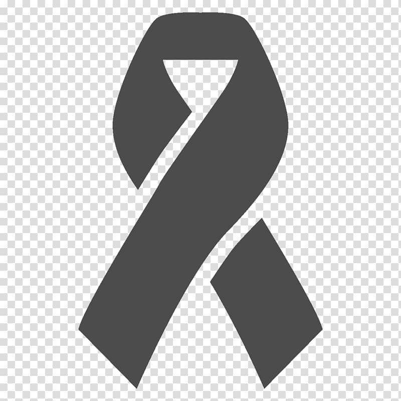 Awareness ribbon Breast cancer awareness Computer Icons, BLACK.