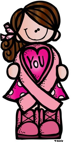 Melonheadz Illustrating Breast Cancer awareness month.