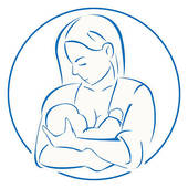Nursing mom clipart.