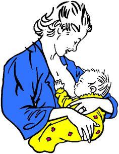 Breastfeeding Clipart.