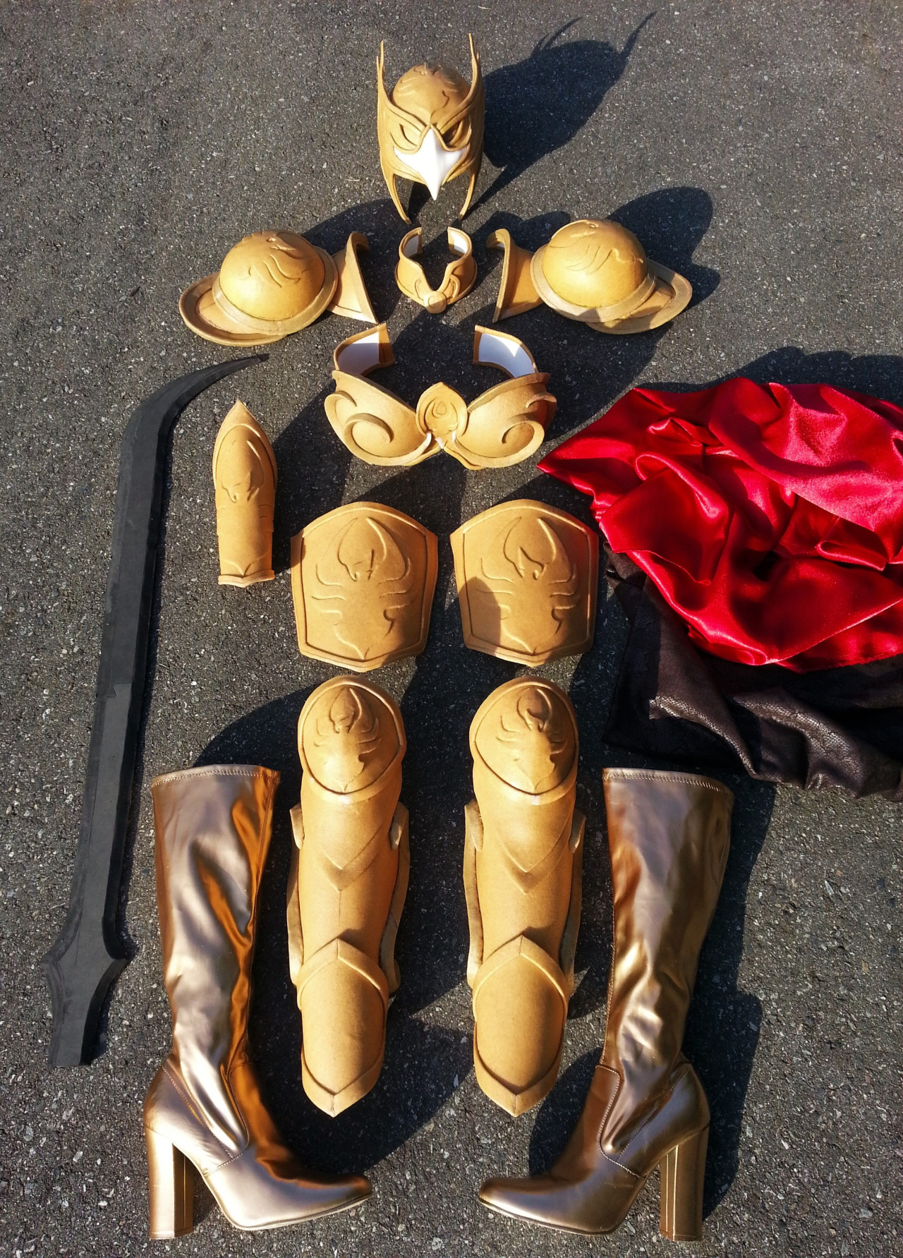 Breastplate Of The Golden Valkyr.