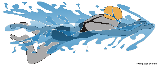 BreastStroke Swimming Clipart: Page One..