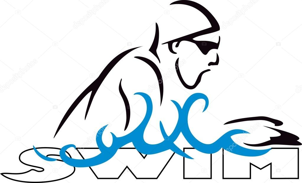 Swim Breaststroke — Stock Vector © BaxSpirit #35666621.