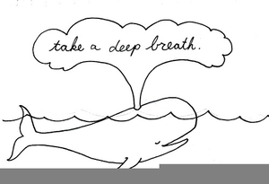 Take A Deep Breath Clipart.
