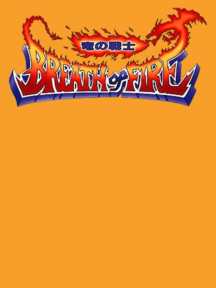 Breath of Fire Logo.