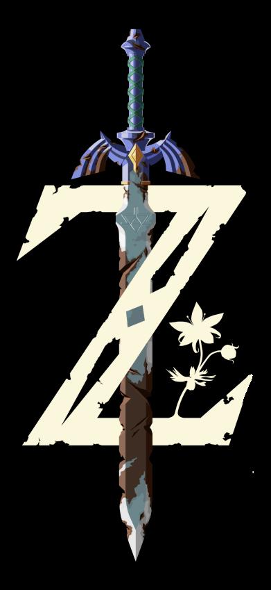 Zelda Breath Of The Wild Logo Png (+).