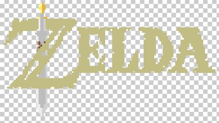 The Legend Of Zelda: Breath Of The Wild Link Pixel Art Logo PNG.