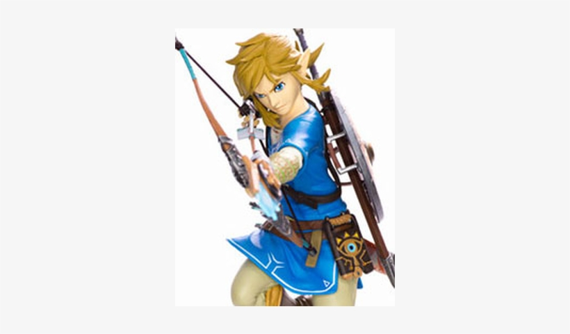 The Legend Of Zelda Breath Of The Wild Pvc Statue Link.