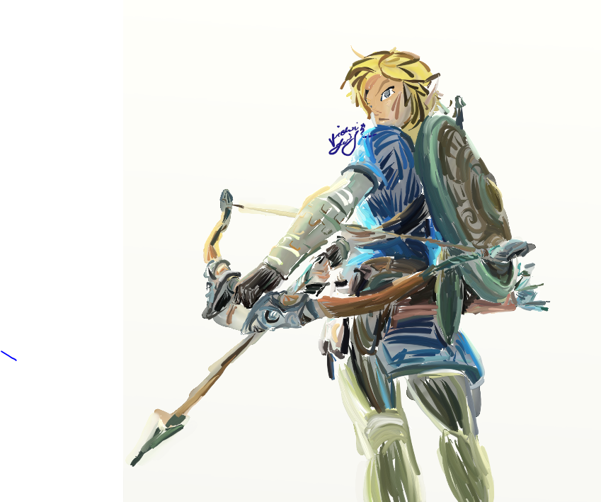 Link breath of the wild png 4 » PNG Image.