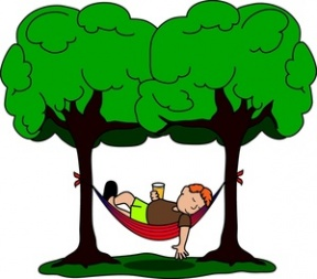 Relaxing Breathe Out Clipart.