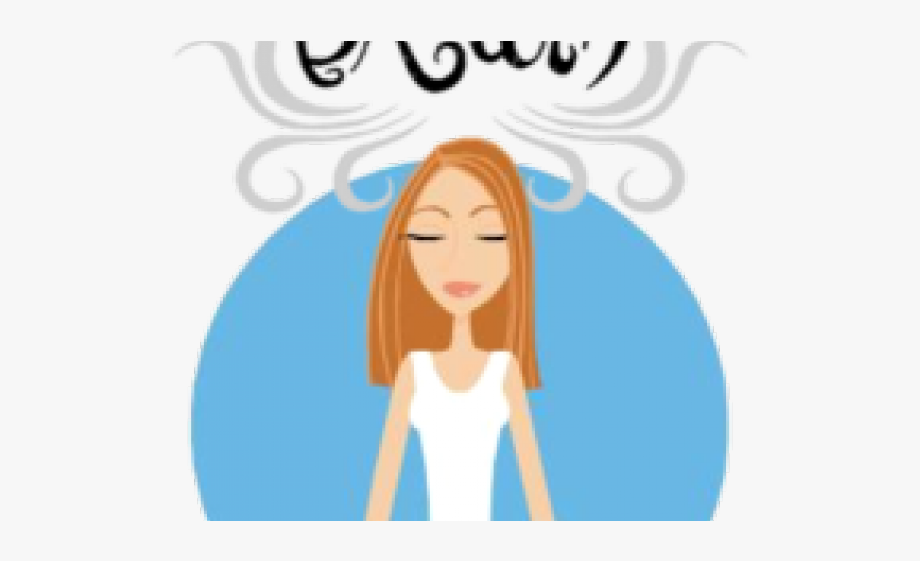 Relax Clipart Belly Breathing.
