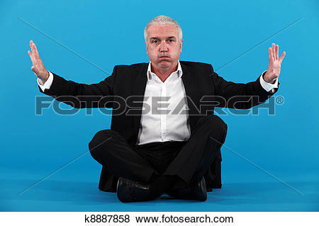Pictures of Businessman needing breathing space k8887858.