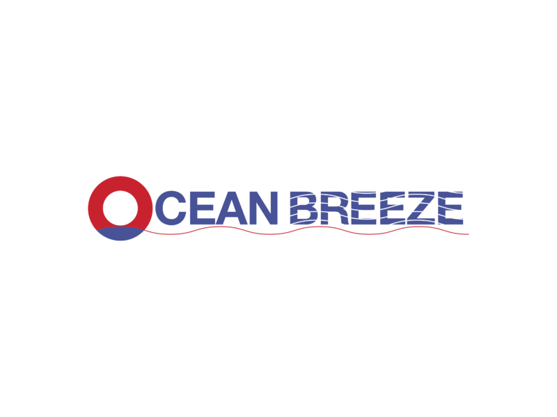Ocean Breeze Logo PNG Transparent & SVG Vector.