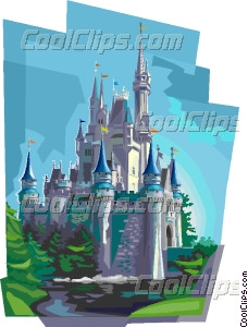Disneyland Castle Creative Clipart.