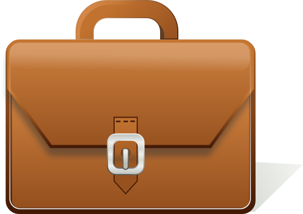 Briefcase Clipart Free.