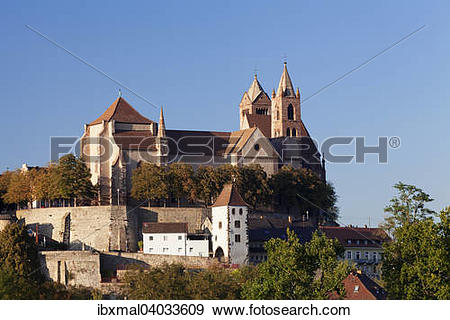 "Stock Photograph of ""Munsterberg with St. Stephen's Cathedral."