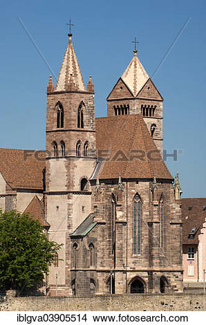 "Stock Photo of ""St. Stephan's Cathedral, Breisach am Rhein."