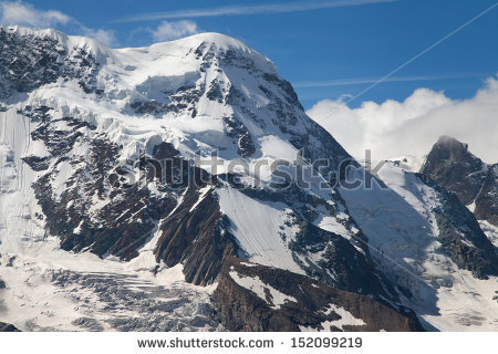 Breithorn Stock Photos, Royalty.
