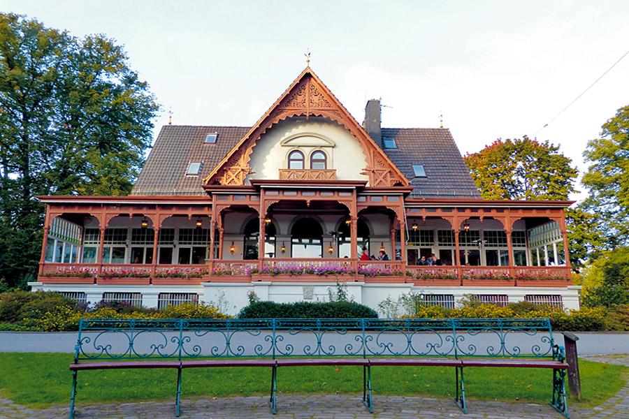 Meierei Bremen at Bürgerpark.