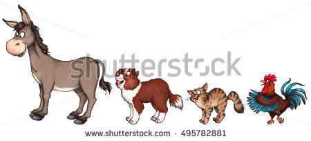 Bremen Town Musicians Stock Photos, Royalty.