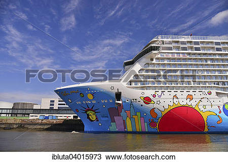 "Stock Photo of ""Cruise ship Norwegian Breakaway, Norwegian Cruise."