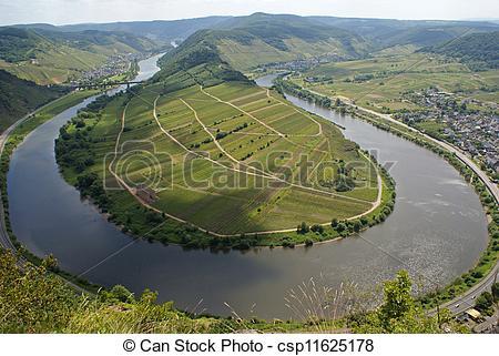 Picture of Moselschleife, Bremm, Deutschland.