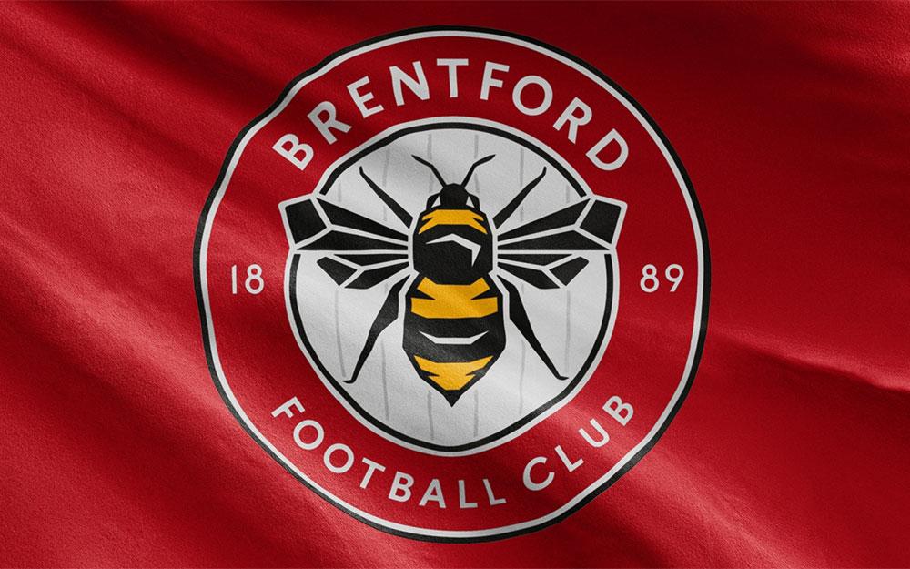 Brentford FC crest redesign.