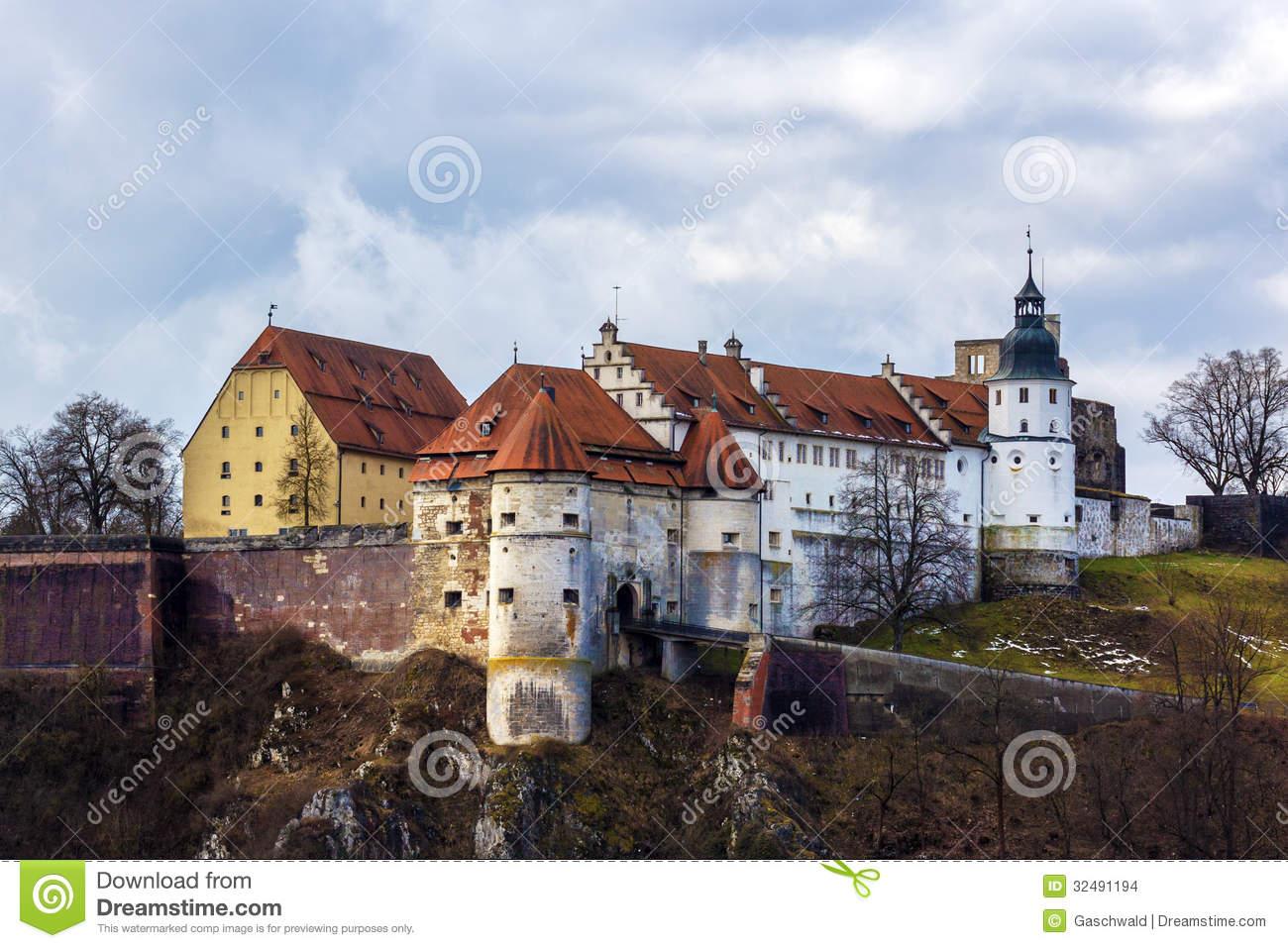 Heidenheim An Der Brenz, Schloss Hellenstein Editorial Stock Image.