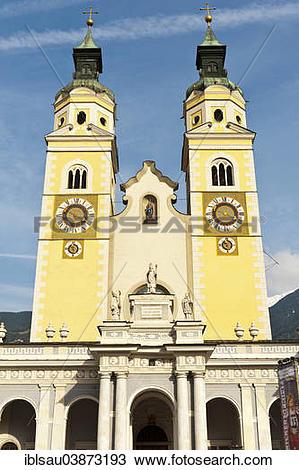"""Stock Photo of """"Cathedral of Brixen, Church of the Assumption of."""