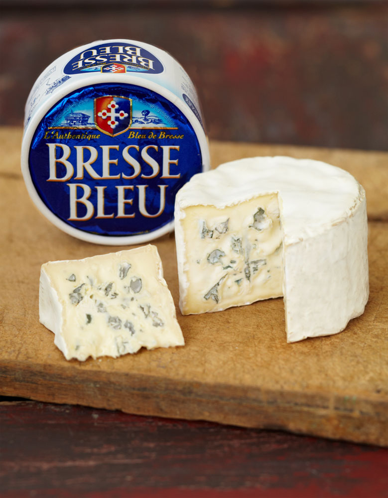 Bresse Bleu cheese factory and shop.