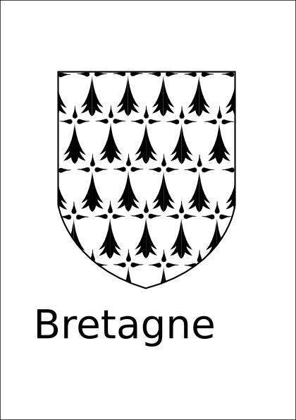 Bretagne clip art Free vector in Open office drawing svg ( .svg.