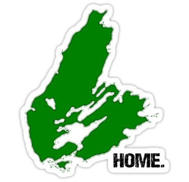 "Cape Breton Island is my Home"" Stickers by starpinto."